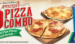 Cappriciosa $10 Pizza Combo