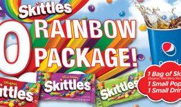 Skittles $10 Rainbow Package