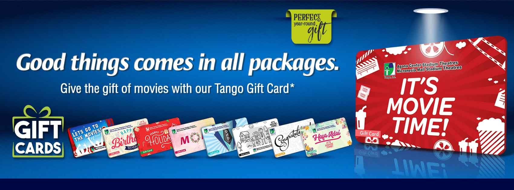 Gift Card Web Banner
