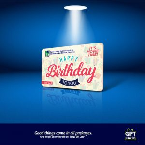 Gift Card Happy Birthday