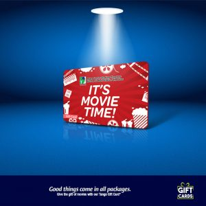 Gift Card it's Movie time