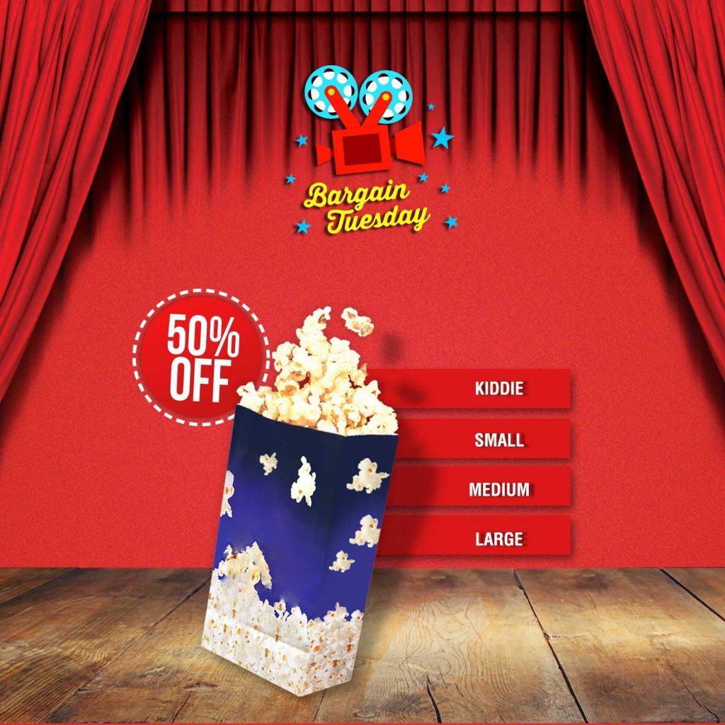 Bargain Tuesday Popcorn