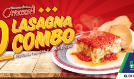 $10 Lasagna Combo